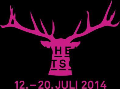 Hirsch-Logo MMS 2014 Black vor Magenta