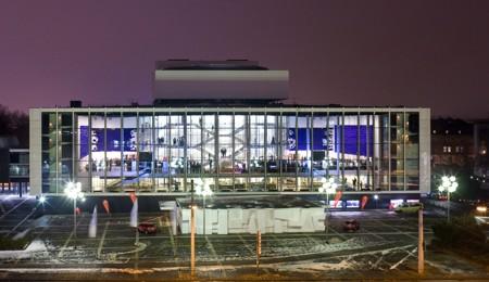 Gelsenkirchen MiR-Glasfassade